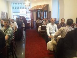 İsveç UETD, Stokcholm'de iftar verdi