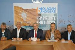 Ak Parti Kulu İlçe Başkanı Mehmet TALAYHAN'dan 5.Olağan Kongre ile ilgili Basın Açıklaması.