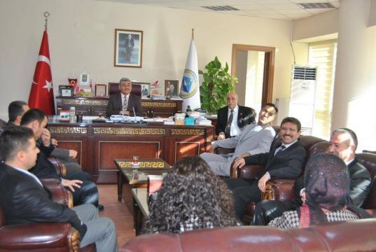 Okul Müdürlerinden Başkan Yıldız'a Ziyaret