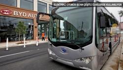Elektrikli otobüs' devrimi geliyor