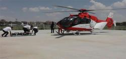 Hava Ambulansı ile Konyaya Sevk edildi