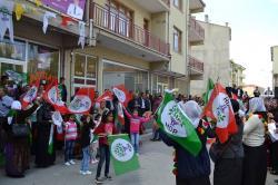HDP Kulu Seçim Bürosunu Açtı