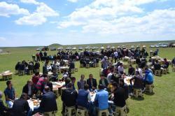 Bozan'da Şükür ve Yağmur Duası Yapıldı