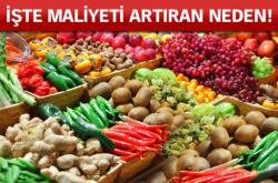 'Satılamayan meyve-sebze markette fiyatları artırıyor'