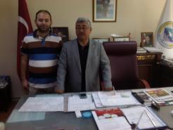 Haberkulu.com Olarak Belediye Başkanımız Ahmet Yıldız'ı Ziyaret Ettik