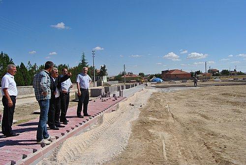 Kulu'da Yeni Park Yapımları Devam Ediyor