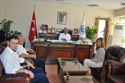 Şerife Gül Alıcı'dan Başkan Yıldız'a ziyaret