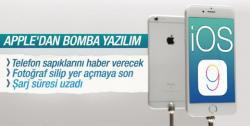 Apple'den bomba yazılım