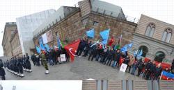 İsveç'te Türkmendağı Protestosu