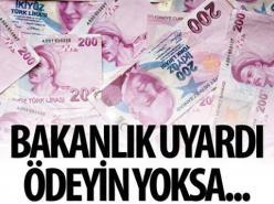 'HGS cezasını önce ödeyin yoksa icra gelebilir' uyarısı