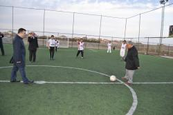 Kulu'da İlçe Emniyet Müdürlüğü ve Kulu Belediyesi'nce düzenlenen Kulu Gençlik Halı Saha Futbol Turnuvası başladı .