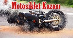 Kulu' da Sanayi Kavşağında Motosiklet Kazası