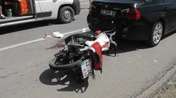 Yine Motosiklet Kazası