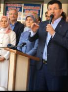 Sayın Davutoğlu Kulu'da Halka Seslendi