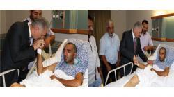 Başbakan Karacedere'li Gazi Çetin Yıldız'ı Ziyaret Etti
