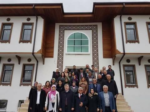 Konya Büyükşehir Bld. Bşk. AKYÜREK Kulu ya geldi