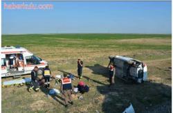 Trafik Kazası Dört Yaralı