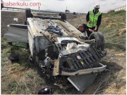 Şeker Kavşağında Trafik Kazası