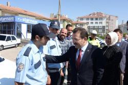 Emniyet Genel Müdürü Selami Altınok Kulu da Trafiği Denetledi