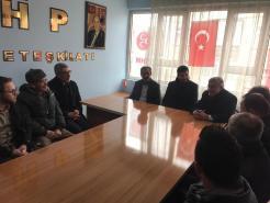 Ak Parti Teşkilatından MHP Teşkilatına Ziyaret
