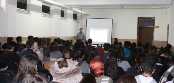 Kulu'da öğrencilere enerji tasarrufu anlatıldı