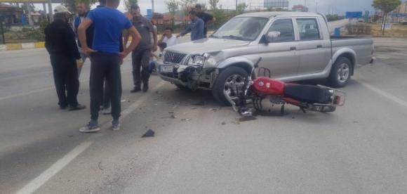 Kulu'da kaza:1 yaralı