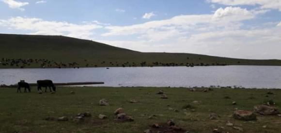 Karacadağ'ın zirvesine gizlenen muhteşem göl