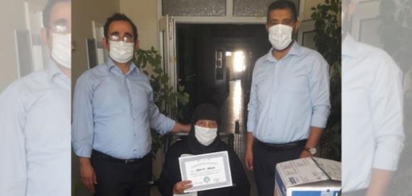 Kulu'da hayırsever vatandaştan hastaneye anlamlı destek