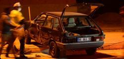 Kulu'da otomobil ile tır çarpıştı: 2 yaralı