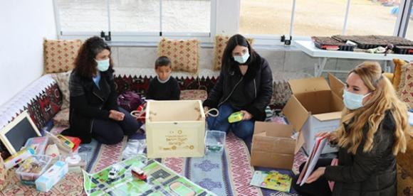 Kulu'da miniklere ''Benim Oyun Sandığım'' eğitim seti