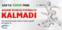 Asgari Ücretli Futbolcu Kalmadı